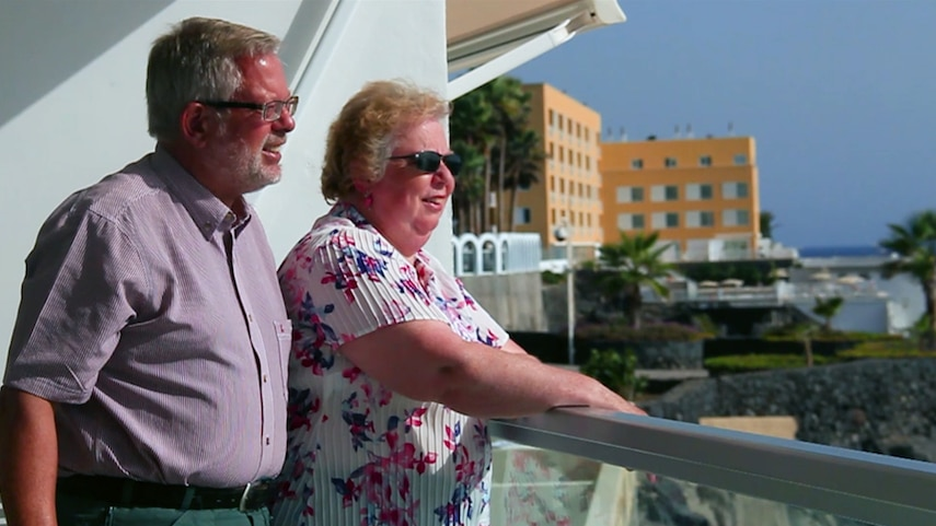 RCI members, Martyn and Gail Wrigg, loved their exchange at Pearly Grey Ocean Club so much, they bought there