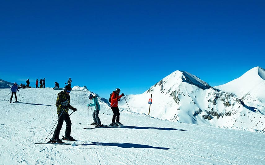 The mountain resort of Bansko is Bulgaria's top skiing resort catering from beginners to experts