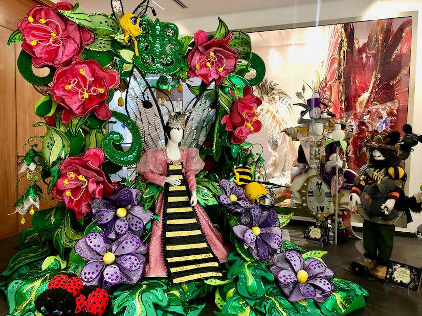 Elaborate carnival costumes