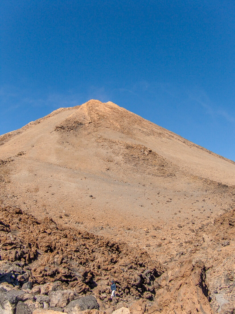 Mount Teide's summit