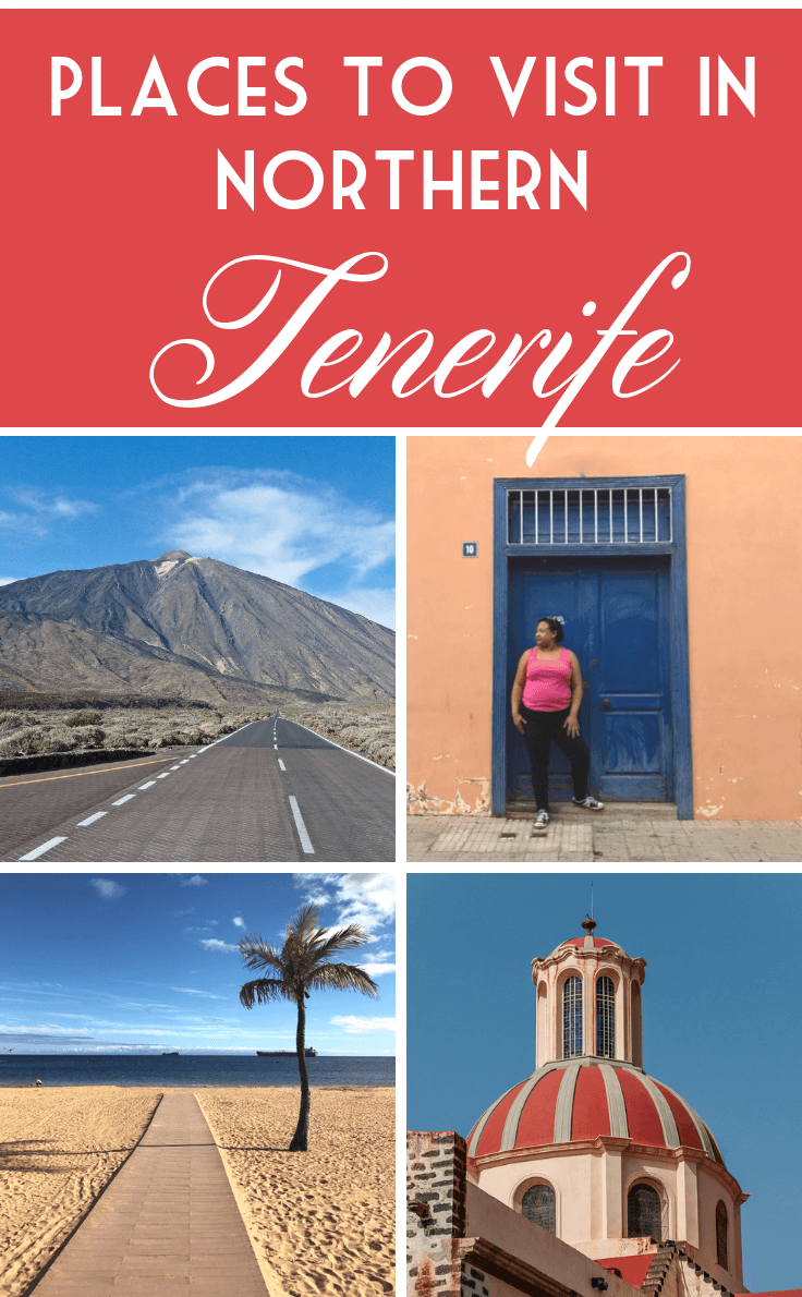 Places to visit in northern Tenerife pin