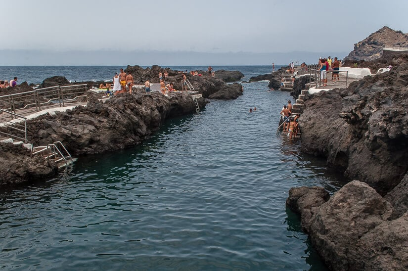 Rock pools in Garachico, north Tenerife