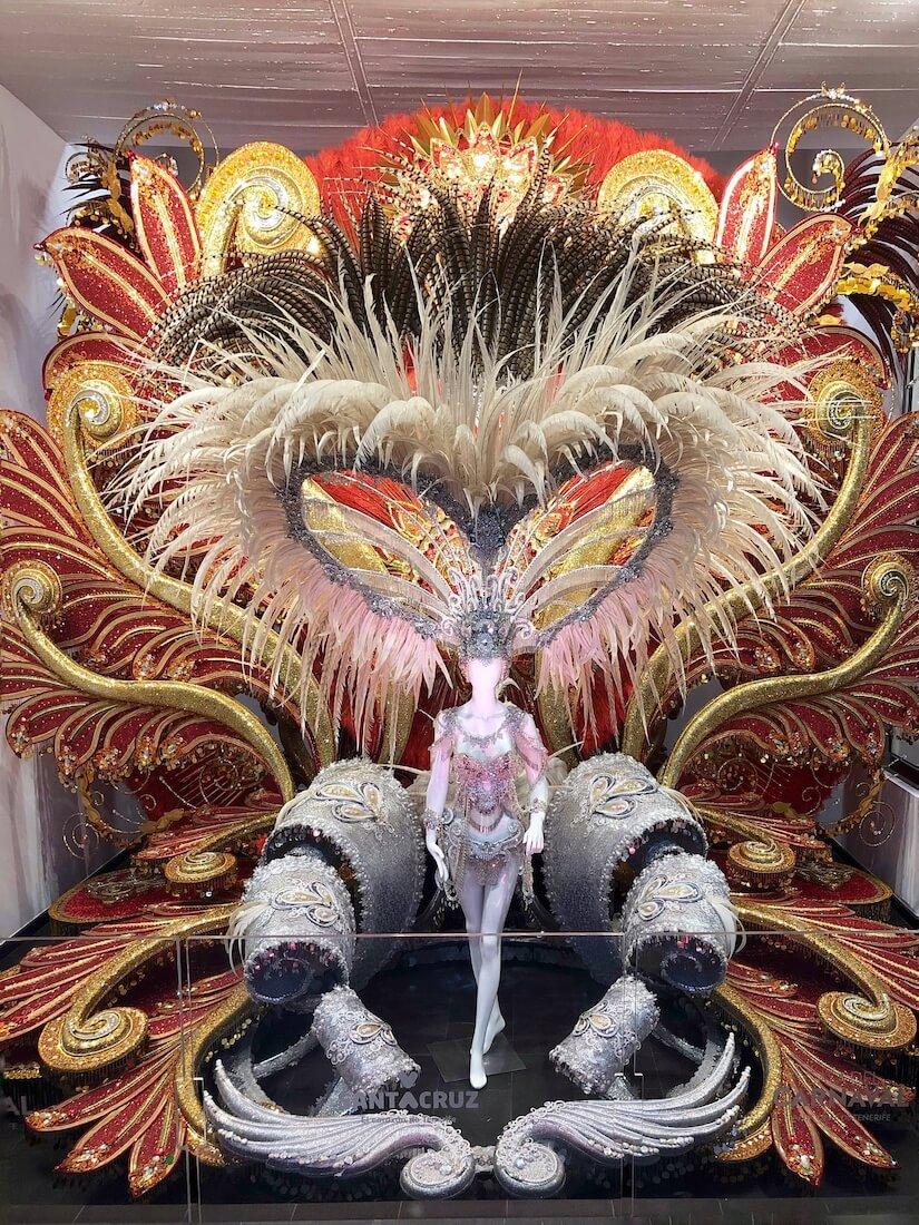 Tenerife Carnival queen costume