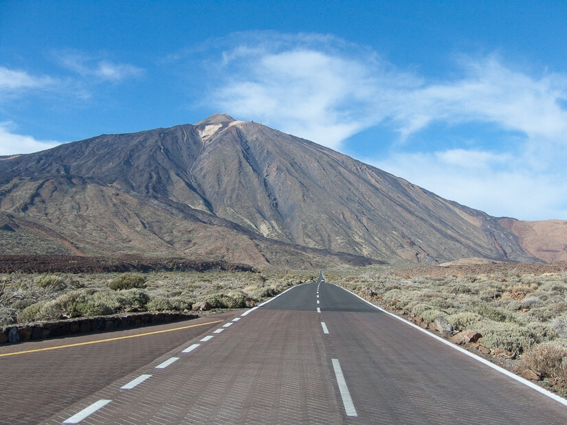 The road to Mount Teide, Tenerife