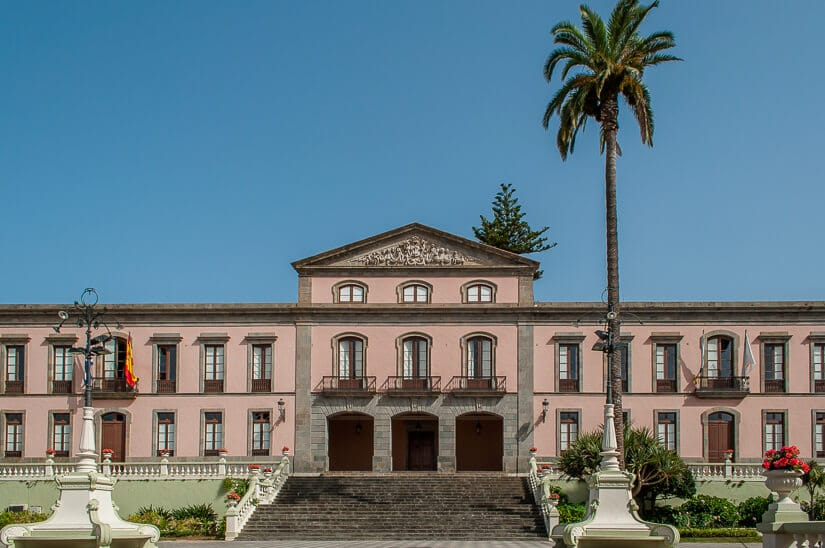Town Hall in La Orotava, Tenerife