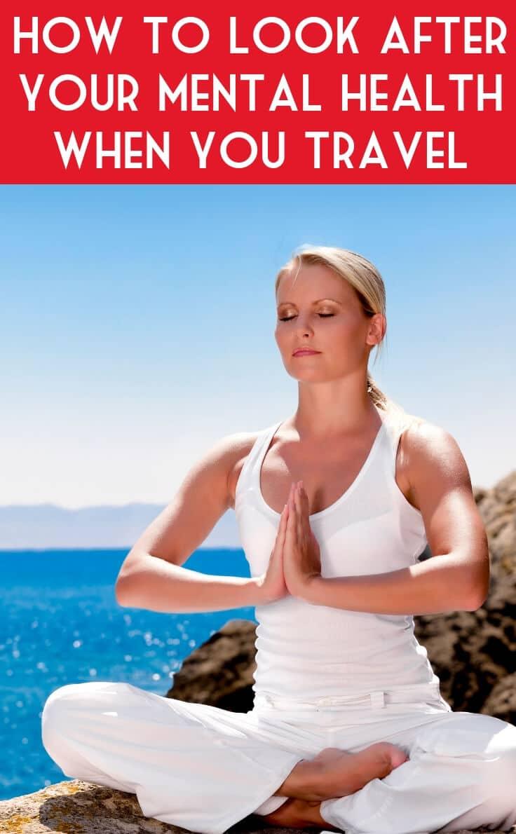 Woman relaxing in yoga pose