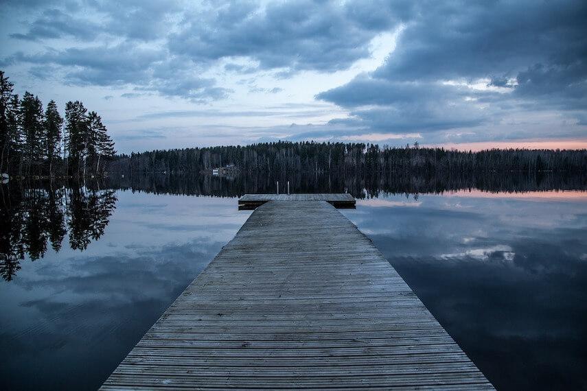 Dock Lake Finland