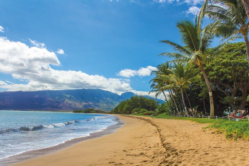Kihei beach Hawaii