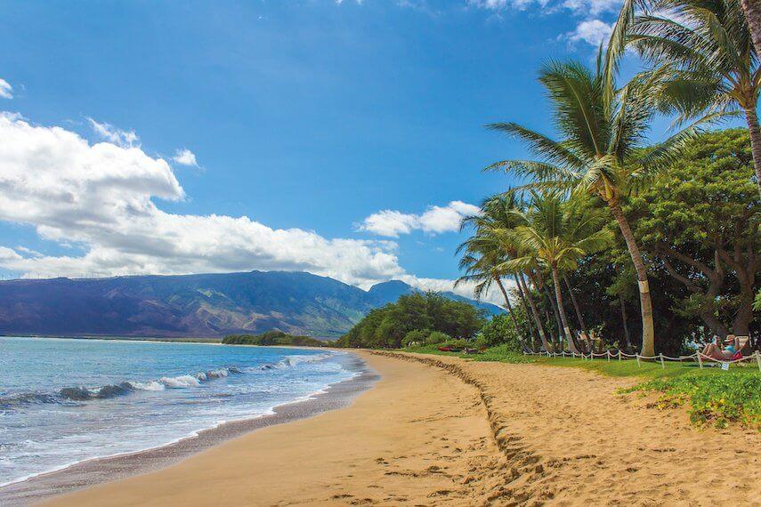 Kihei beach Hawaii