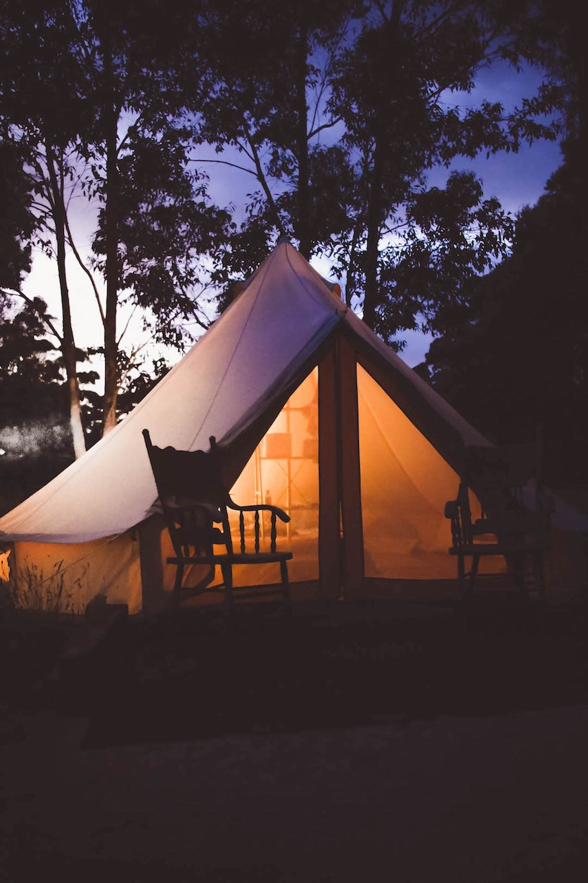 Glamping in the UK or indeed around the world provides for a fabulous experience