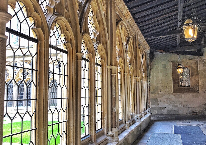 Cloisters at St George's Chapel, Windsor