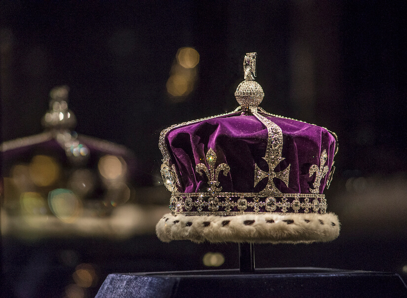 Crown, part of the British monarch's Crown Jewels