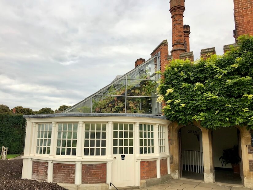Greenhouse at Hampton Court Palace