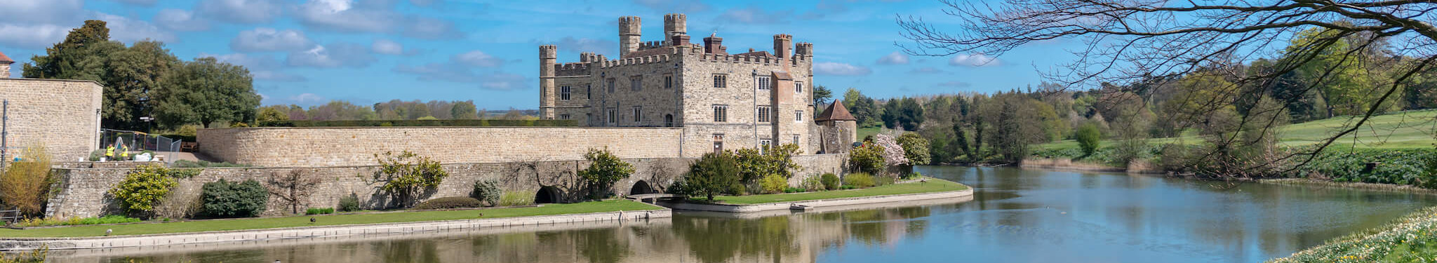 Leeds Castle near London