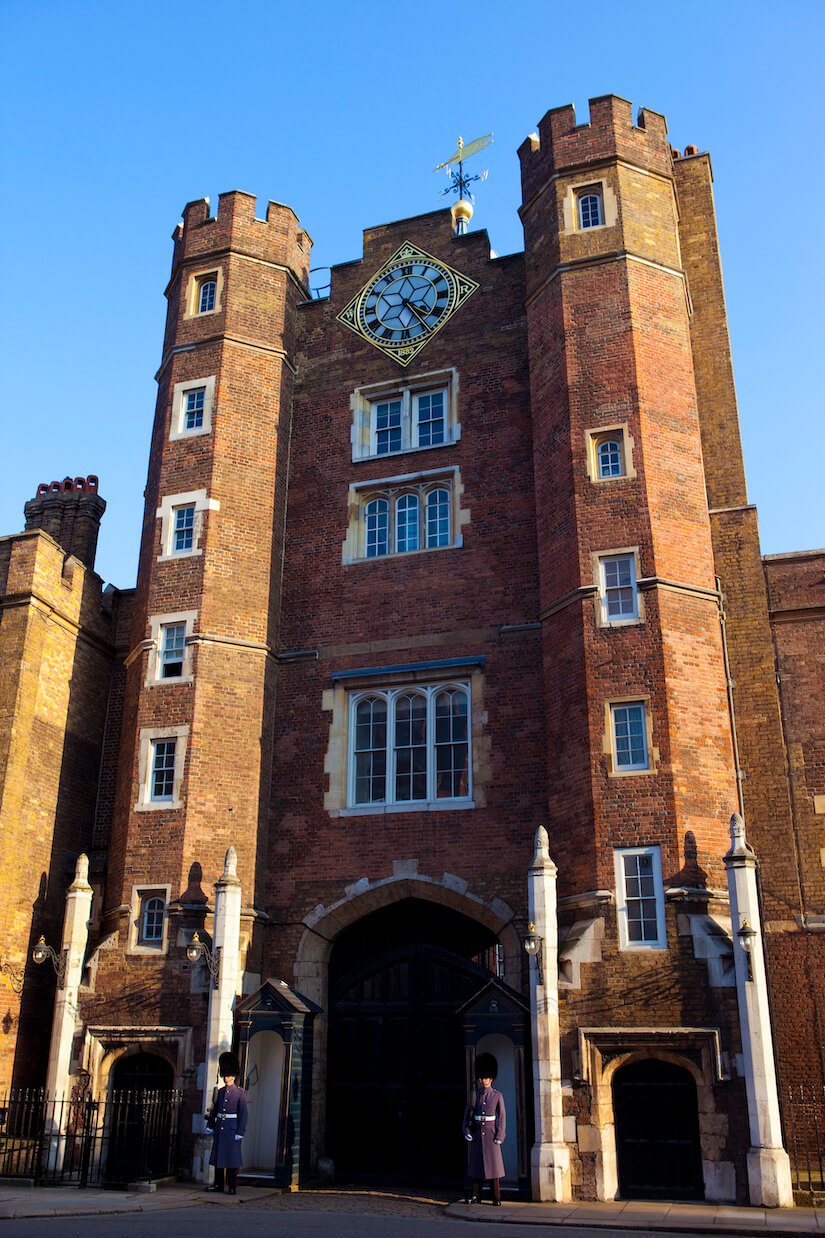 St James's Palace in London