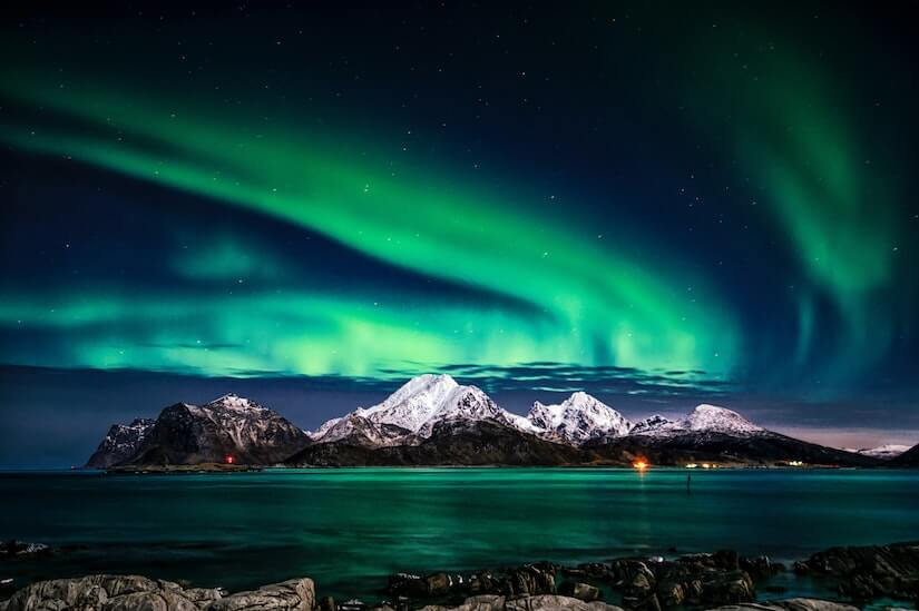 Viewing the Aurora Borealis in Norway