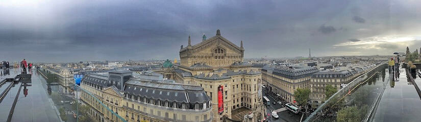 Paris from Gallaries Lafayette