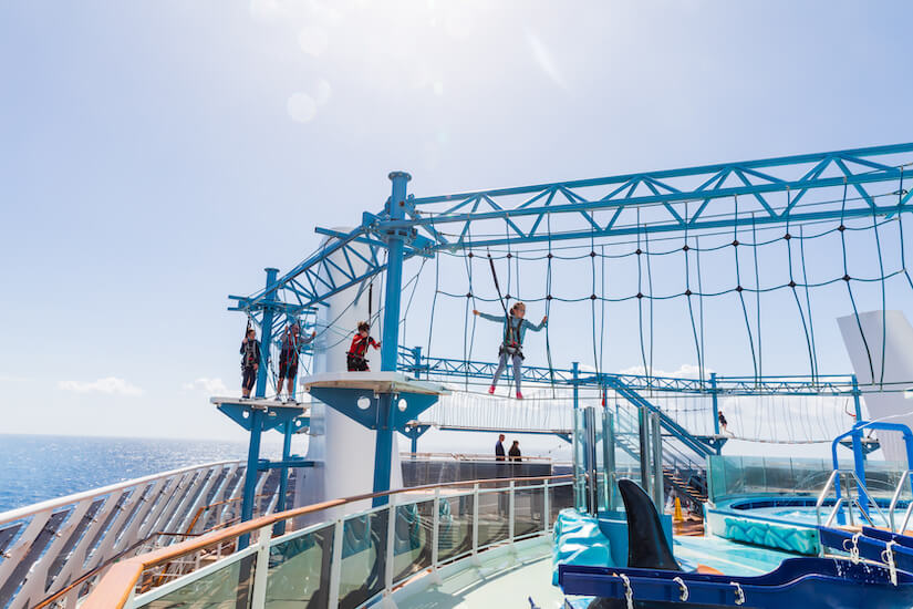 Kids have so many onboard activities