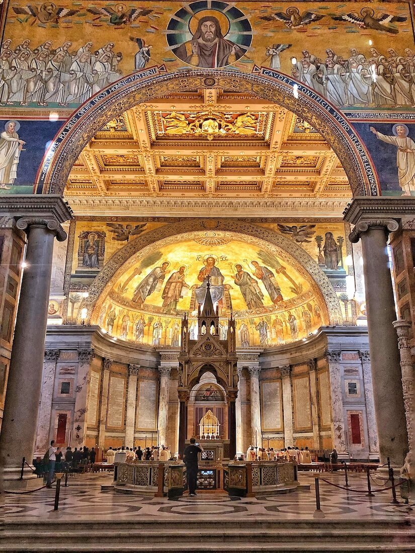 Altar of St Paul's Basilica, Rome