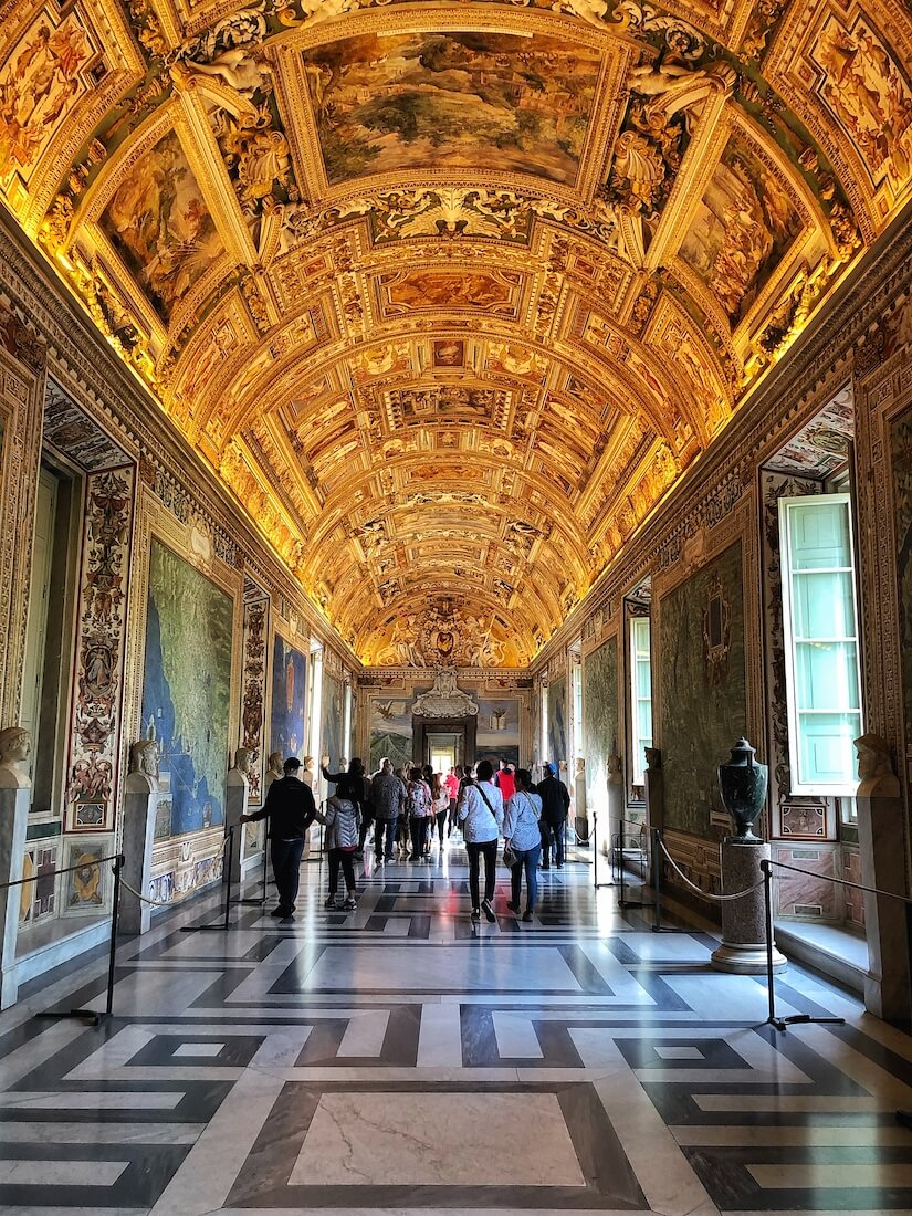 Map Room, Vatican Museums