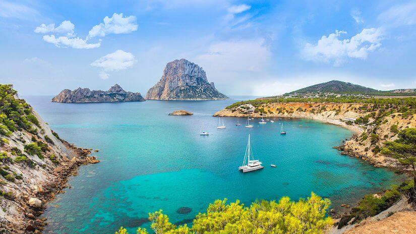 Cala Vadella in Ibiza