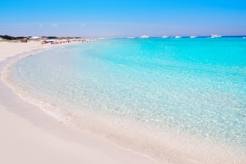 East Beach, Formentera
