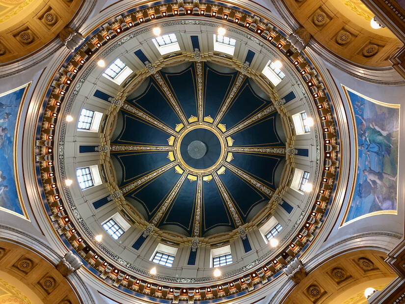 Dome of Saint Paul State Capitol