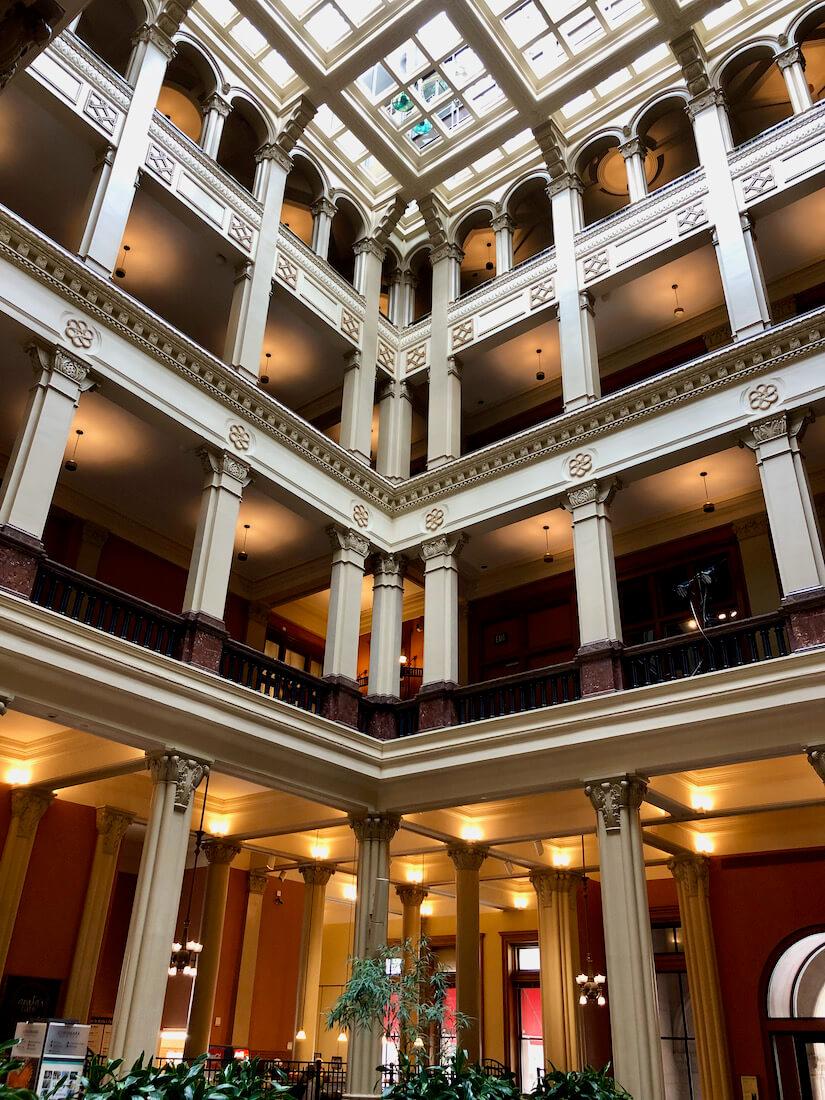 Landmark Center interior