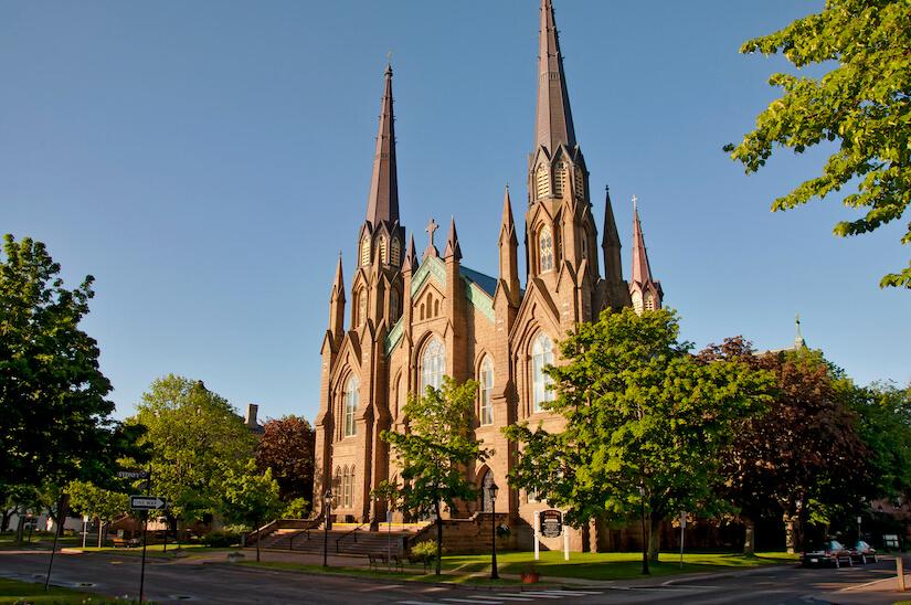 Don't miss St Dunstan's Basilica in Charlottetown