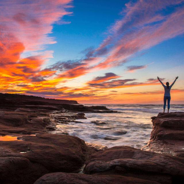 Sunset over Prince Edward Island