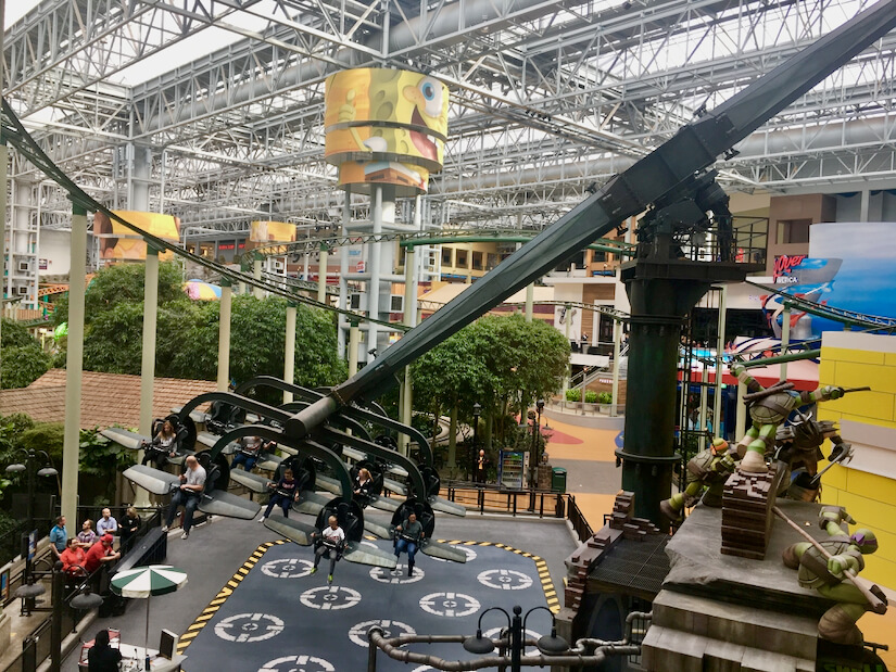 Ride at Mall of America